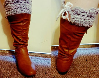 Super Thick and Warm Winter Boot Cuffs