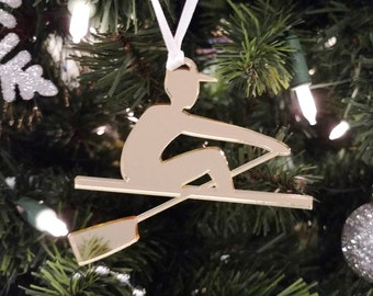 Gold Male Rower