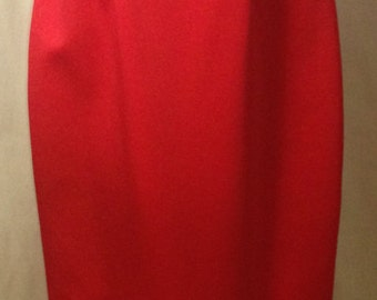 Red Evening, Gown for ABS Evening by Allen Schwartz Design in Size 4.  Perfect for formals, opera, cruise, gala or evening.