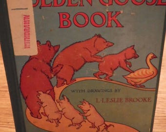SALE** The Golden Goose Book - Leslie Brooke (Ex-Library Copy)