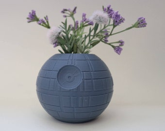 Death Star Planter, Star Wars Planter, Succulent Planter, Air Planter Many Colors