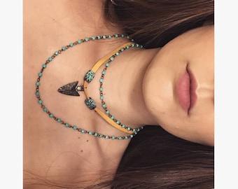 Rosary/cord Pocahontas inspired set