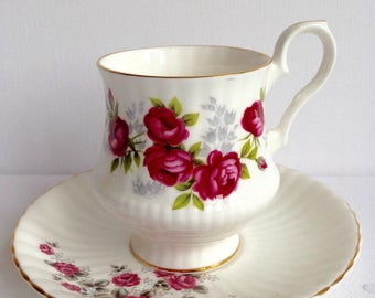 Royal Windsor Cup and Saucer Fine Bone China England