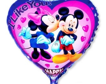 Large foil Mickey Mouse balloon N13