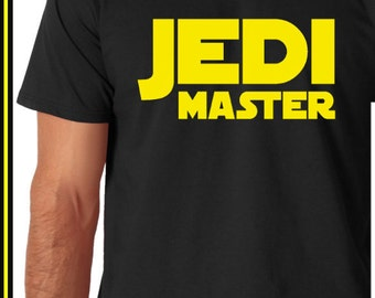 Father & Son Shirts (Father Shirt Only) Star Wars Jedi Master Funny T-shirt and Funny tshirt Dad Matching Outfit