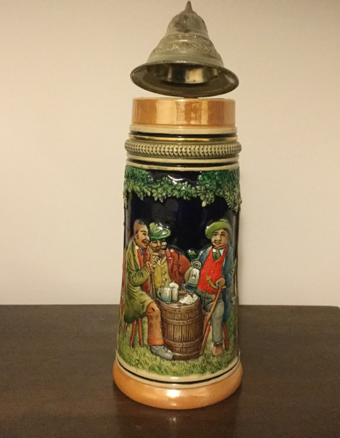 Vintage Gerz Gerzit West Germany Beer Stein Mug VgC West ... |Vintage West Germany Beer Steins