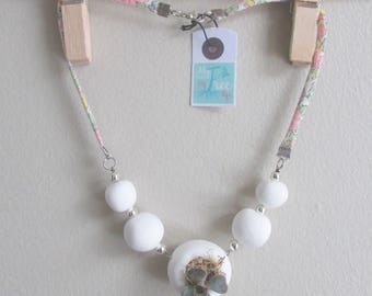 Bubbles Necklace - Necklace planted with a real succulent