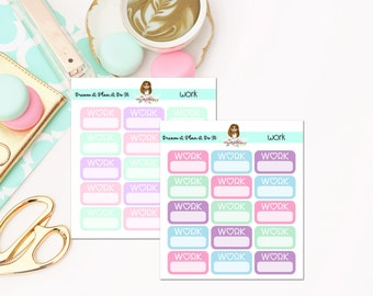 Work Planner Stickers