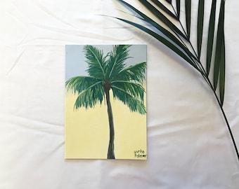 Original Palm tree painting