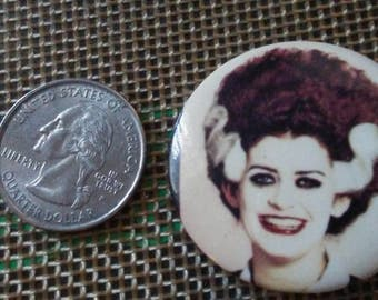 Magenta Throwback Pin Rocky Horror Picture Show  Button