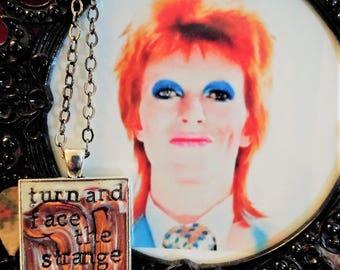 David Bowie Changes Pendant Necklace