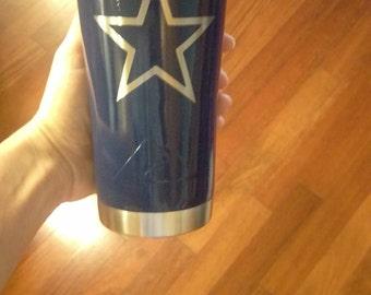 Dallas Cowboys ozark trail, Cowboys ozark trail,Dallas Cowboys ozark,Cowboys ozark,ozark trail tumbler,Dallas Cowboys,Powder coated,tumbler