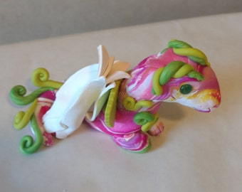 """Spring Polymer Clay Doodle Bug Dragon Series 1 """"Lilly"""""""
