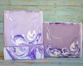 Lavender Soap Favors, Lavender Favors, Homemade Soap, Artisan Soap, Cold Process Soap, Purple Soap, Palm Free Soap
