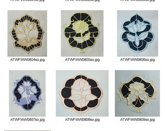 Cutwork-Flowers-and-Ornaments ( 10 Machine Embroidery Designs from ATW ) XYZ17B