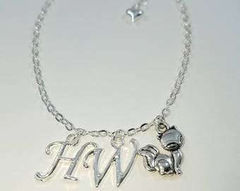Vixen Hotwife Anklet, Initial Jewelry, Personalized Jewelry, Sexy Anklets, Swinger Jewelry, Kinky