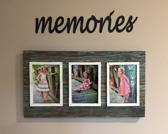 Memories Wall Sign, Memories Sign, Memories, Black Memories Sign, Metal Wall Words, Black Wall Words