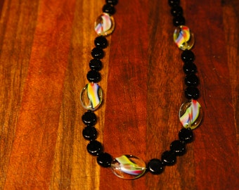Antique Glass Bead Necklacce