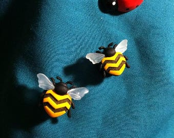 Cute SPRING Time- Bumble BEE's Clog Shoe Charms