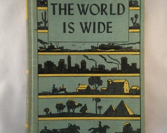 The World is Wide - Vintage Textbook (1947)