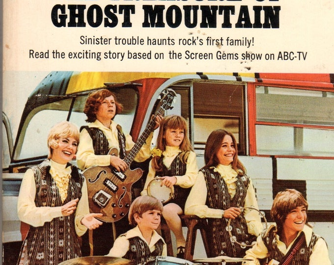 1972 The Partridge Family Treasure Ghost Mountain Book #8 series TV Photo Cover David Cassidy