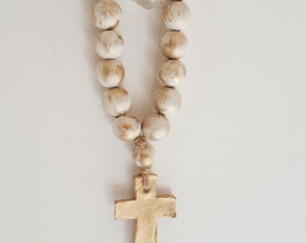 Beige Tantinet Series Bibelot Blessing Beads