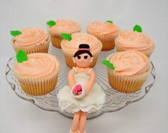 Handmade Ballerina Cake Topper