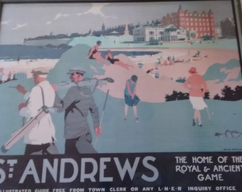 H.G. Gawthorn  St. Andrews Golf framed print