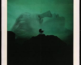 """Rosemary's Baby (1968) Vintage One-Sheet Movie Poster - 27"""" x 41"""""""
