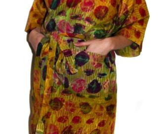 Kimono robe 'Marvellous Dots'