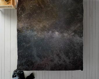 Galaxy Duvet Cover, Space Duvet, Galaxy Bedding, Galaxy Bed, Space Bed, Queen Duvet Cover, King Duvet Cover, Twin Duvet Cover, Galaxy Decor