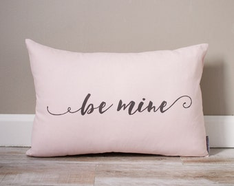 Schön Be Mine Pillow | Monogrammed Valentineu0027s Gift | Gifts For Him | Valentineu0027s  Day Gift For