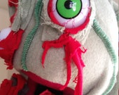 Zombie hand puppet professional