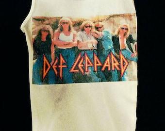 Def Leppard, Def Leppard shirt, Def Leppard tank top, hair metal shirt, glam metal shirt, rock n roll clothing, Def Leppard women's top