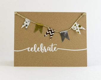 Birthday Cards, Rustic and Whimsical, Ink-Embossed  - Celebration/Graduation Cards