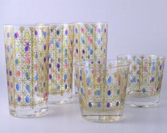 Atomic Polka-dot Glasses