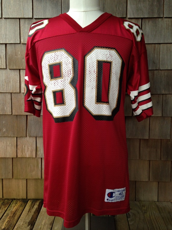 3ba679e0119 60%OFF Vintage San Francisco 49ers JERRY RICE Jersey by PacificThrowbacks