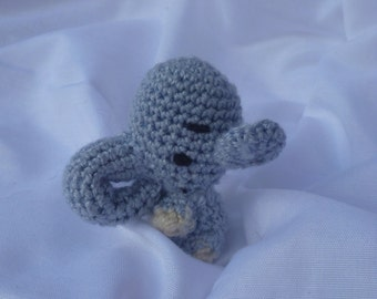 amigurumi little baby elephant