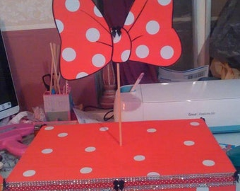 Minnie Mouse,party, birthday, cupcake stand