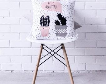 Cushion Cover • Hello Beautiful