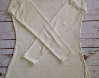 XS Lovely Layering Sweater, Cream