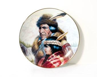 Gregory Perillo Nez Perce Nation Plate by BigMuddyVintageShop