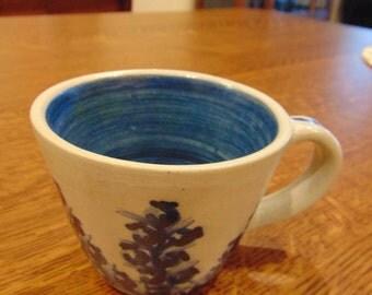 Vintage Dorchester Stoneware Coffee Mug (FREE SHIPPING)