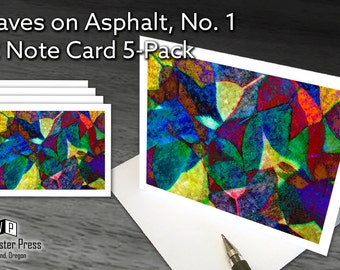 Abstract Art Cards, Note Card Set, Abstract Note cards, Abstract Stationery Set, Stationary Set,  Art Cards Set, Contemporary Note Card Set