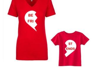 Mother-Daughter Best Friend Shirt
