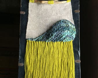 Wave Weaving | Large Woven Wall Hanging