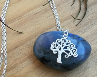 Tree-Of-Life Necklace -Sterling Silver