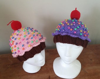 Cupcake Hat for Child
