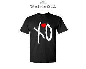 The Weeknd XO Tee, The Weeknd Shirt, Starboy Shirts, The Weeknd Clothing, Starboy Weeknd T-Shirt