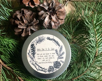 White Pine and Fir Salve